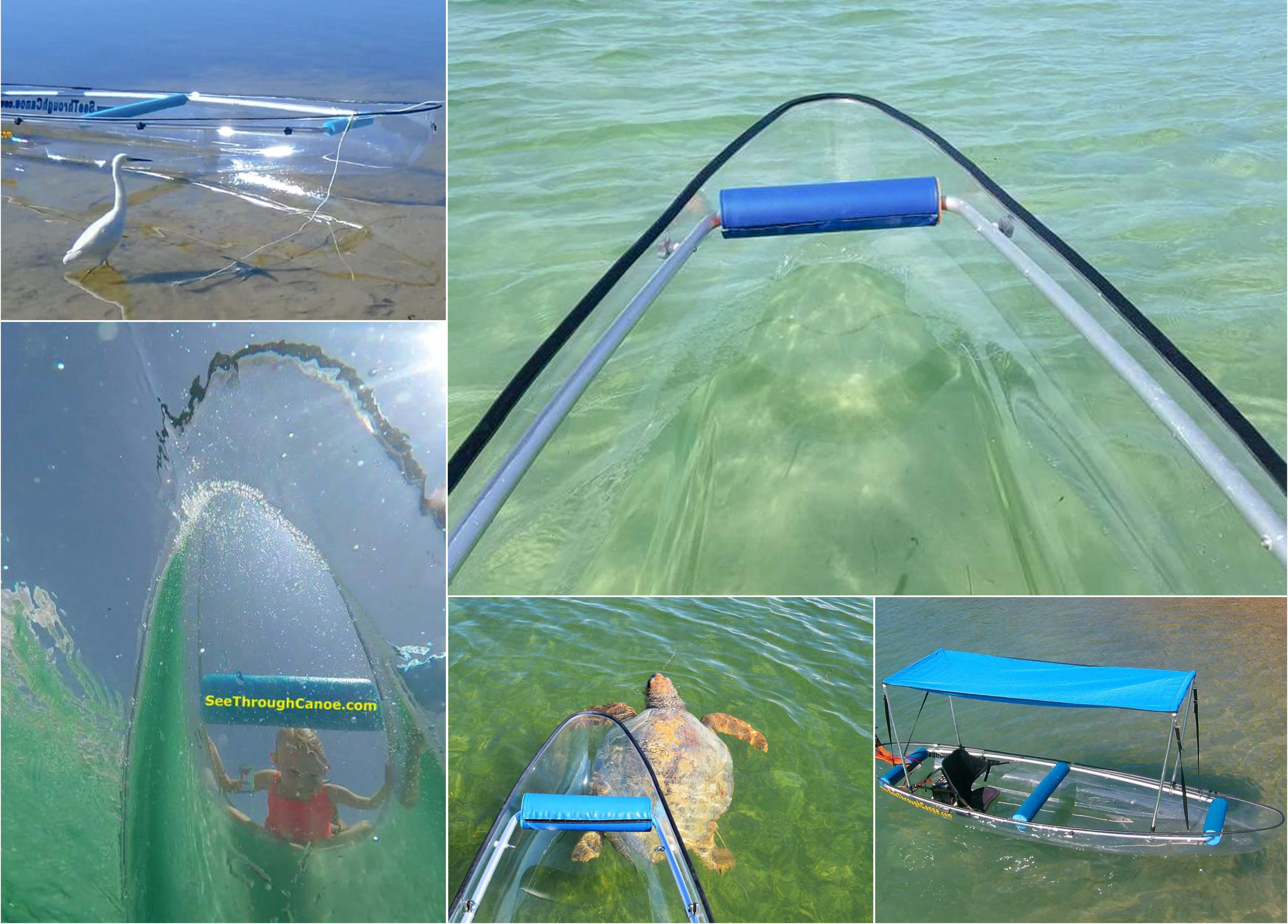 See Through Canoes